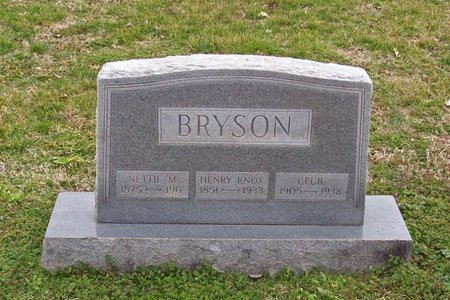 BRYSON, HENRY KNOX - Lincoln County, Tennessee | HENRY KNOX BRYSON - Tennessee Gravestone Photos