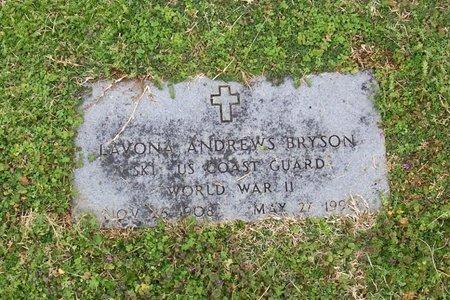 BRYSON (VETERAN WWII), LAVONA - Lincoln County, Tennessee | LAVONA BRYSON (VETERAN WWII) - Tennessee Gravestone Photos