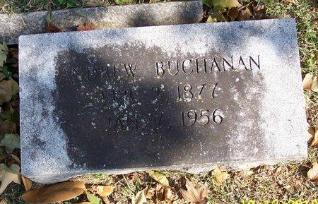 BUCHANAN, ANDREW - Lincoln County, Tennessee   ANDREW BUCHANAN - Tennessee Gravestone Photos