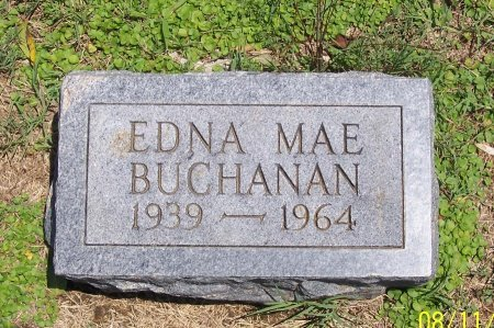 BUCHANAN, EDNA MAE - Lincoln County, Tennessee | EDNA MAE BUCHANAN - Tennessee Gravestone Photos
