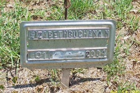 BUCHANAN, ELIZABETH - Lincoln County, Tennessee   ELIZABETH BUCHANAN - Tennessee Gravestone Photos