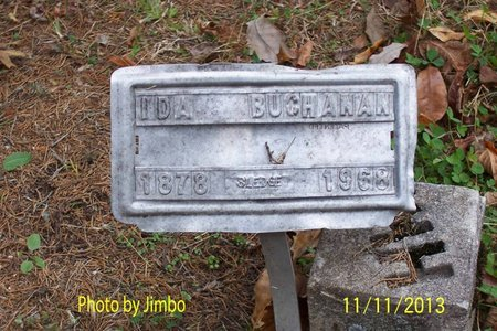 BUCHANAN, IDA - Lincoln County, Tennessee | IDA BUCHANAN - Tennessee Gravestone Photos
