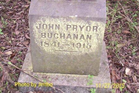 BUCHANAN, JOHN PRYOR - Lincoln County, Tennessee | JOHN PRYOR BUCHANAN - Tennessee Gravestone Photos