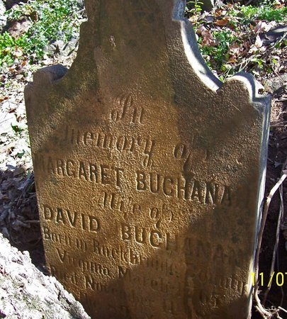 BUCHANAN, MARGARET - Lincoln County, Tennessee | MARGARET BUCHANAN - Tennessee Gravestone Photos