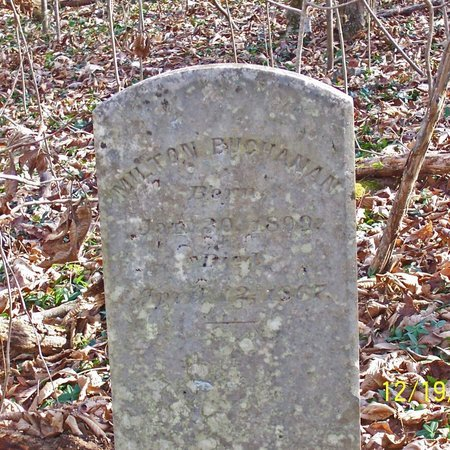 BUCHANAN, MILTON - Lincoln County, Tennessee   MILTON BUCHANAN - Tennessee Gravestone Photos