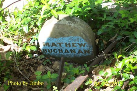 BUCHANAN, MATHEW - Lincoln County, Tennessee | MATHEW BUCHANAN - Tennessee Gravestone Photos