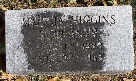 HIGGINS BUCHANAN, MALEMA - Lincoln County, Tennessee   MALEMA HIGGINS BUCHANAN - Tennessee Gravestone Photos