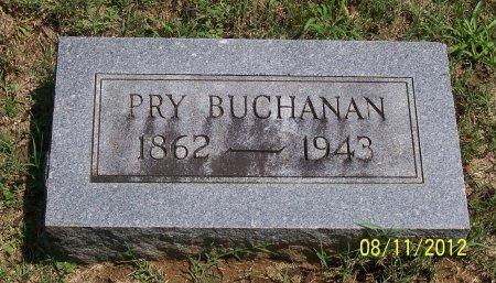 BUCHANAN, PRY - Lincoln County, Tennessee | PRY BUCHANAN - Tennessee Gravestone Photos