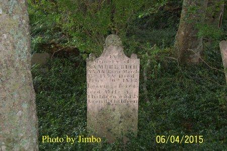 BUCHANAN, SAMUEL - Lincoln County, Tennessee | SAMUEL BUCHANAN - Tennessee Gravestone Photos