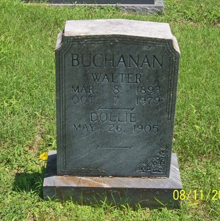 BUCHANAN, WALTER - Lincoln County, Tennessee | WALTER BUCHANAN - Tennessee Gravestone Photos