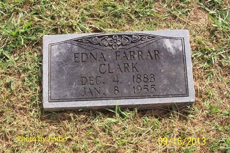 CLARK, EDNA - Lincoln County, Tennessee | EDNA CLARK - Tennessee Gravestone Photos