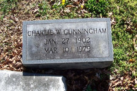CUNNINGHAM, CHARLIE W. - Lincoln County, Tennessee   CHARLIE W. CUNNINGHAM - Tennessee Gravestone Photos