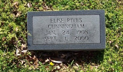 CUNNINGHAM, ELISE - Lincoln County, Tennessee | ELISE CUNNINGHAM - Tennessee Gravestone Photos