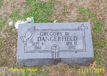 DANGERFIELD, GREGORY D. - Lincoln County, Tennessee | GREGORY D. DANGERFIELD - Tennessee Gravestone Photos