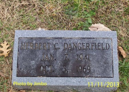 DANGERFIELD, HERBERT C. - Lincoln County, Tennessee | HERBERT C. DANGERFIELD - Tennessee Gravestone Photos