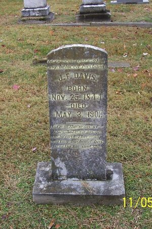 DAVIS, JOHN FORD - Lincoln County, Tennessee | JOHN FORD DAVIS - Tennessee Gravestone Photos