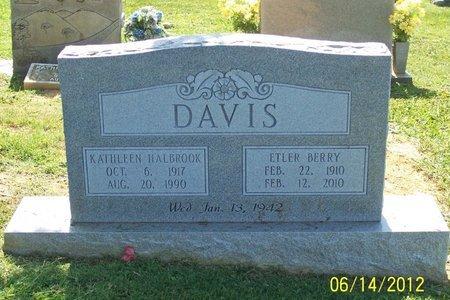 DAVIS, KATHLEEN - Lincoln County, Tennessee | KATHLEEN DAVIS - Tennessee Gravestone Photos