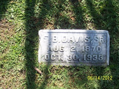 "DAVIS, SR., ETLER BERRY ""E. B."" - Lincoln County, Tennessee 