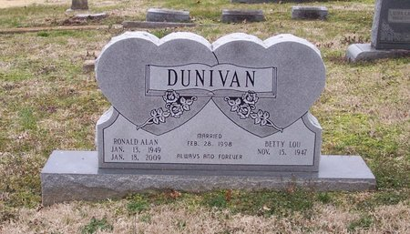 DUNIVAN, RONALD ALAN - Lincoln County, Tennessee | RONALD ALAN DUNIVAN - Tennessee Gravestone Photos