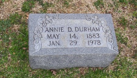 DURHAM, ANNIE D. - Lincoln County, Tennessee | ANNIE D. DURHAM - Tennessee Gravestone Photos