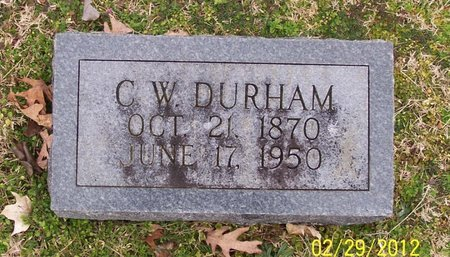 DURHAM, C. W. - Lincoln County, Tennessee | C. W. DURHAM - Tennessee Gravestone Photos