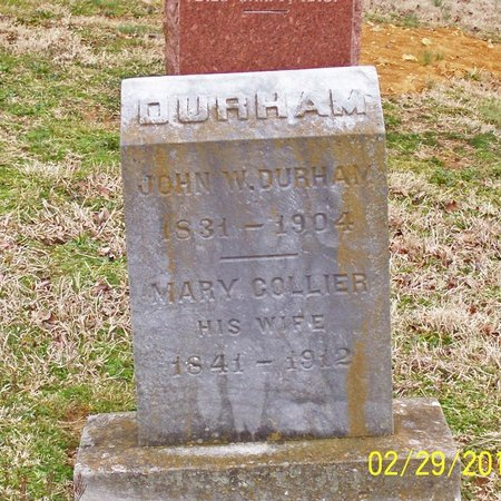 DURHAM, MARY - Lincoln County, Tennessee | MARY DURHAM - Tennessee Gravestone Photos