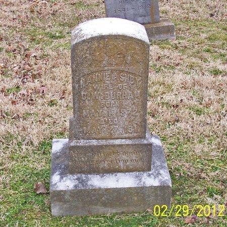 DURHAM, NANNIE - Lincoln County, Tennessee | NANNIE DURHAM - Tennessee Gravestone Photos