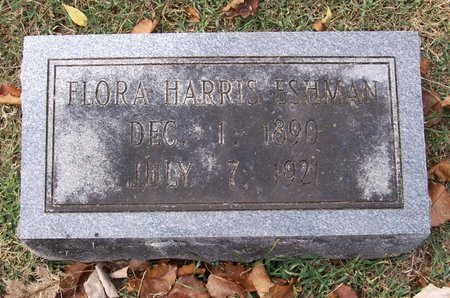 HARRIS ESHMAN, FLORA - Lincoln County, Tennessee | FLORA HARRIS ESHMAN - Tennessee Gravestone Photos