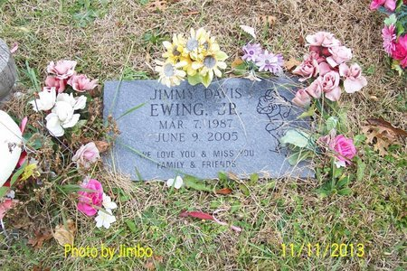 EWING, JR., JIMMY DAVIS - Lincoln County, Tennessee | JIMMY DAVIS EWING, JR. - Tennessee Gravestone Photos