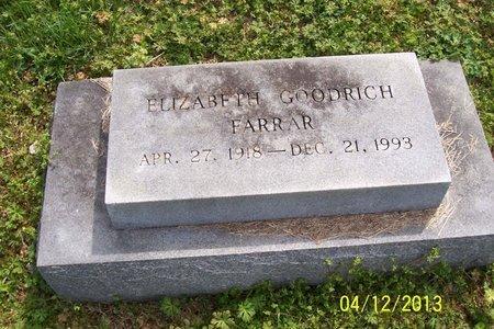 FARRAR, ELIZABETH - Lincoln County, Tennessee | ELIZABETH FARRAR - Tennessee Gravestone Photos