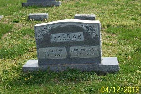 FARRAR, JR., JOHN WILLIAM - Lincoln County, Tennessee | JOHN WILLIAM FARRAR, JR. - Tennessee Gravestone Photos