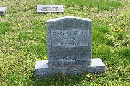 FARRAR, MARY VIRGINIA - Lincoln County, Tennessee   MARY VIRGINIA FARRAR - Tennessee Gravestone Photos