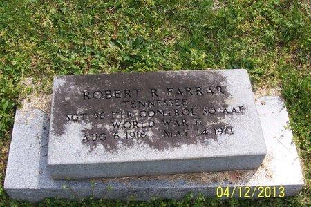 FARRAR (VETERAN WWII), ROBERT R - Lincoln County, Tennessee   ROBERT R FARRAR (VETERAN WWII) - Tennessee Gravestone Photos