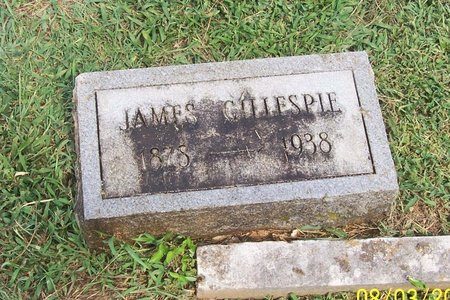 GILLESPIE, JAMES - Lincoln County, Tennessee | JAMES GILLESPIE - Tennessee Gravestone Photos