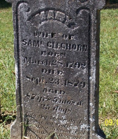 GLEGHORN, MARY ANN - Lincoln County, Tennessee | MARY ANN GLEGHORN - Tennessee Gravestone Photos