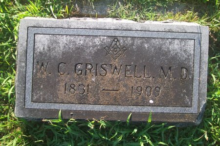 GRISWELL, M.D., W. C. - Lincoln County, Tennessee | W. C. GRISWELL, M.D. - Tennessee Gravestone Photos