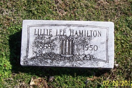 HAMILTON, LILLIE LEE - Lincoln County, Tennessee | LILLIE LEE HAMILTON - Tennessee Gravestone Photos