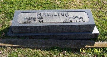 HAMILTON, WILLIAM K. - Lincoln County, Tennessee | WILLIAM K. HAMILTON - Tennessee Gravestone Photos