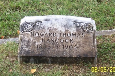 HANCOCK, HOWARD THOMAS - Lincoln County, Tennessee | HOWARD THOMAS HANCOCK - Tennessee Gravestone Photos
