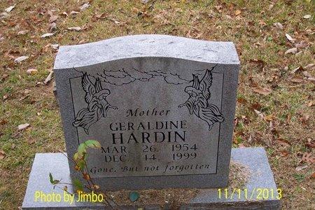 HARDIN, GERALDINE - Lincoln County, Tennessee | GERALDINE HARDIN - Tennessee Gravestone Photos