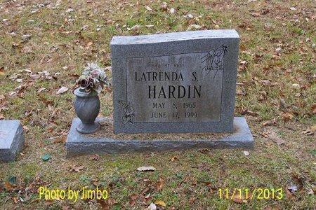 HARDIN, LATRENDA S. - Lincoln County, Tennessee | LATRENDA S. HARDIN - Tennessee Gravestone Photos