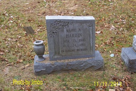 HARDIN, MARIE A. - Lincoln County, Tennessee | MARIE A. HARDIN - Tennessee Gravestone Photos