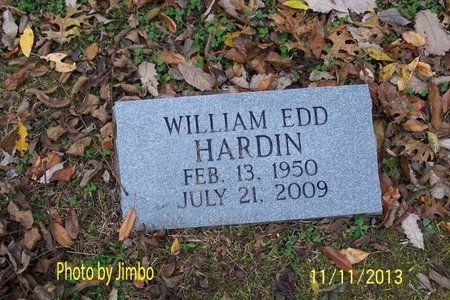 HARDIN, WILLIAM EDD - Lincoln County, Tennessee | WILLIAM EDD HARDIN - Tennessee Gravestone Photos