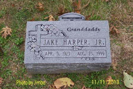 HARPER, JR., JAKE - Lincoln County, Tennessee | JAKE HARPER, JR. - Tennessee Gravestone Photos