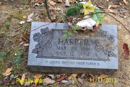 HARPER, LELAH A. - Lincoln County, Tennessee | LELAH A. HARPER - Tennessee Gravestone Photos