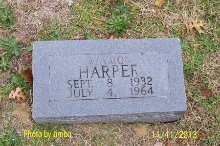 HARPER, WAYMON - Lincoln County, Tennessee | WAYMON HARPER - Tennessee Gravestone Photos