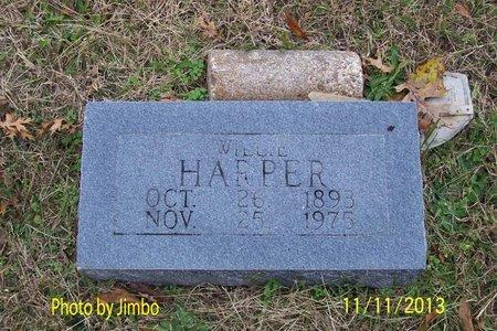 HARPER, WILLIE - Lincoln County, Tennessee | WILLIE HARPER - Tennessee Gravestone Photos