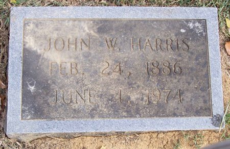 HARRIS, JOHN W. - Lincoln County, Tennessee | JOHN W. HARRIS - Tennessee Gravestone Photos