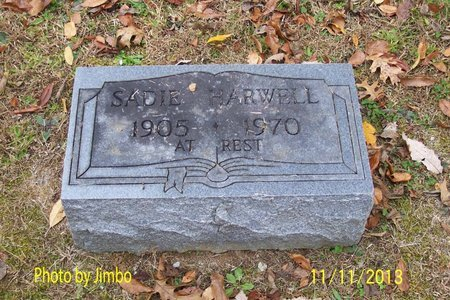 HARWELL, SADIE - Lincoln County, Tennessee | SADIE HARWELL - Tennessee Gravestone Photos
