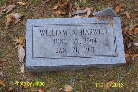 HARWELL, WILLIAM A. - Lincoln County, Tennessee | WILLIAM A. HARWELL - Tennessee Gravestone Photos